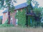 Highgate Area Abandoned Brick Victorian Farmhouse